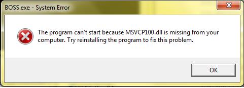Msvcp100. Dll скачать бесплатно для windows 7, 8, 10: восстановление.
