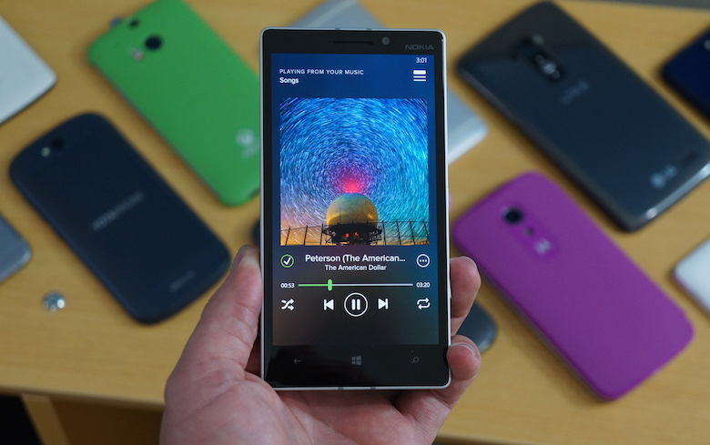 spotify на windows phone